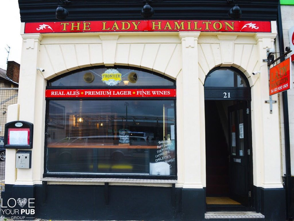 the Lady Hamilton Portsmouth
